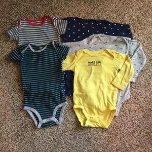 Boys' onesies. 18 months.